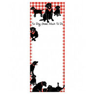 Hatley Little Blue House So Dog Gone Much to Do Magnetic List Notepad