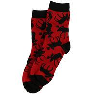 Lazy One Boy's Classic Moose Sock