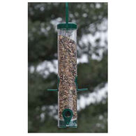 Audubon Green Plastic Mixed Seed Bird Feeder