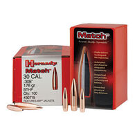 "Hornady Match 30 Cal. 168 Grain .308"" BTHP Rifle Bullet (100)"