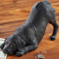 Wild Wings Duke Black Lab Coin Bank