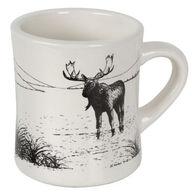 Carville's Moose Tracks Cafe Ceramic Mug