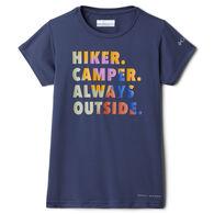 Columbia Girl's Sasse Ridge Graphic Short-Sleeve T-Shirt