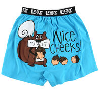 Lazy One Men's Nice Cheeks Boxer