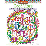 Good Vibes Coloring Book by Thaneeya McArdle