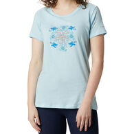 Columbia Women's Hidden Lake Crew Short-Sleeve T-Shirt