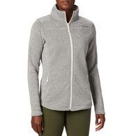 Columbia Women's Canyon Point Sweater Fleece Full-Zip Jacket