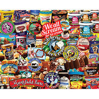 White Mountain Jigsaw Puzzle - We All Scream For Ice Cream