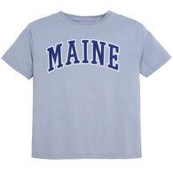 Lakeshirts Youth Blue 84 Maine Short-Sleeve T-Shirt