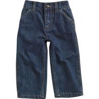 Carhartt Infant/Toddler Boys' Washed Denim Dungaree Pant