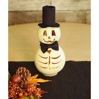 Meadowbrooke Gourds Skully Miniature Skeleton Gourd
