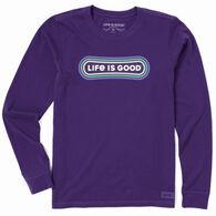 Life is Good Women's Snowboard Pill Crusher Long-Sleeve T-Shirt