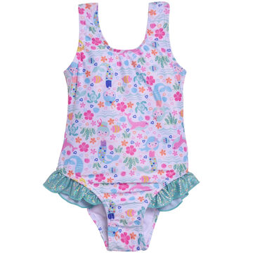 Flap Happy Girls Delaney Hip Ruffle Swimsuit