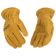 Kinco Youth Lined Suede Driver Glove