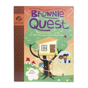 Girl Scouts Brownie Quest Journey Handbook