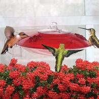 Droll Yankees Window Hummer 3 Hummingbird Bird Feeder