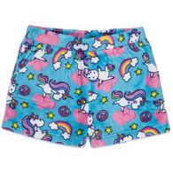 Candy Pink Girl's Yogacorn Pajama Short