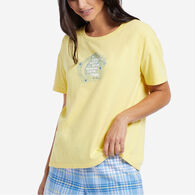 Life is Good Women's Dream Moon Short-Sleeve Sleep T-Shirt