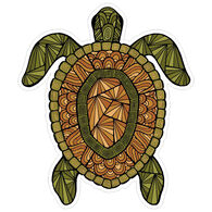 Sticker Cabana Realistic Turtle Sticker