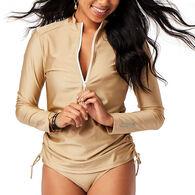 Carve Designs Women's Cruz Long-Sleeve Rashguard Top