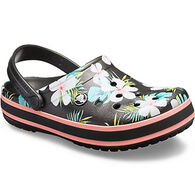 Crocs Women's Crocband Seasonal Graphic Clog