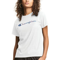 Champion Women's Watercolor Classic Graphic Short-Sleeve T-Shirt