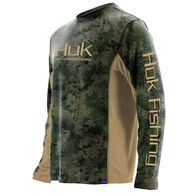 Huk Men's Icon Camo Long-Sleeve Fishing Shirt