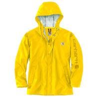 Carhartt Men's Big & Tall Lightweight Waterproof Rainstorm Jacket