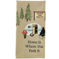 Park Designs Where You Park it Embroidered Dish Towel