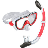 U.S. Divers Diva II LX Island Dry Mask and Snorkel Set
