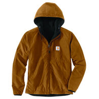 Carhartt Men's Rain Defender Relaxed Fit Fleece Reversible Jacket