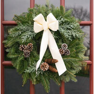 "Winnipesaukee Wreath 22"" White Water Wreath"