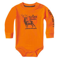 Carhartt Infant/Toddler Boys' Future Hunter Long-Sleeve Bodyshirt