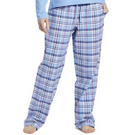 Life is Good Women's Sleepy Powder Plaid Classic Sleep Pant