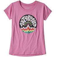 Patagonia Girl's Graphic Organic Cotton Short-Sleeve T-Shirt