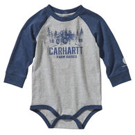 Carhartt Infant Boy's Rugged Workwear Long-Sleeve Bodysuit Onesie