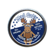 Mad Gab's Unscented Moose Body Balm