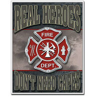 Desperate Enterprises Real Hero Fireman Magnet