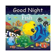 Good Night Fish Board Book by Adam Gamble & Mark Jasper
