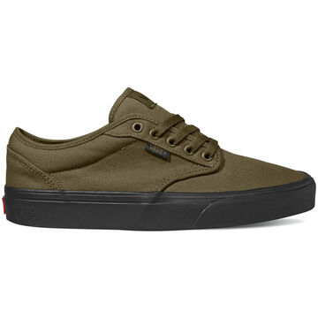 Vans Mens Atwood Canvas Black Sole Sneaker