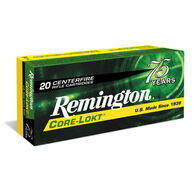 Remington Core-Lokt 6mm Remington 100 Grain PSP Rifle Ammo (20)