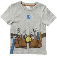 Carhartt Infant/Toddler Boy's Tool Belt Short-Sleeve T-Shirt