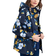 Joules Women's Coast Print Waterproof Rain Jacket