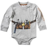 Carhartt Infant Boy's Construction Stack Long-Sleeve Bodyshirt