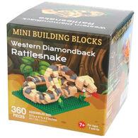 Impact Photographics Western Diamondback Rattlesnake Mini Building Blocks