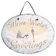 Timeless By Design Winter Greetings Slate