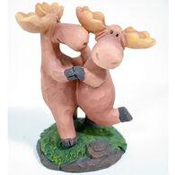 Slifka Sales Co Dancing Moose Couple Figurine