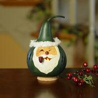 Meadowbrooke Gourds Saint Nick Miniature Santa Gourd