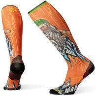 Smartwool Men's PhD Ski Ultra Light Old Man Winter Print Sock