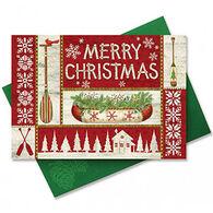 Cape Shore Lodge Life Christmas Embellished Boxed Christmas Cards